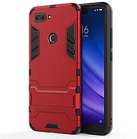 Противоударный Чехол Бампер Slim Armor для Телефона Xiaomi MI 8 Lite, Красный
