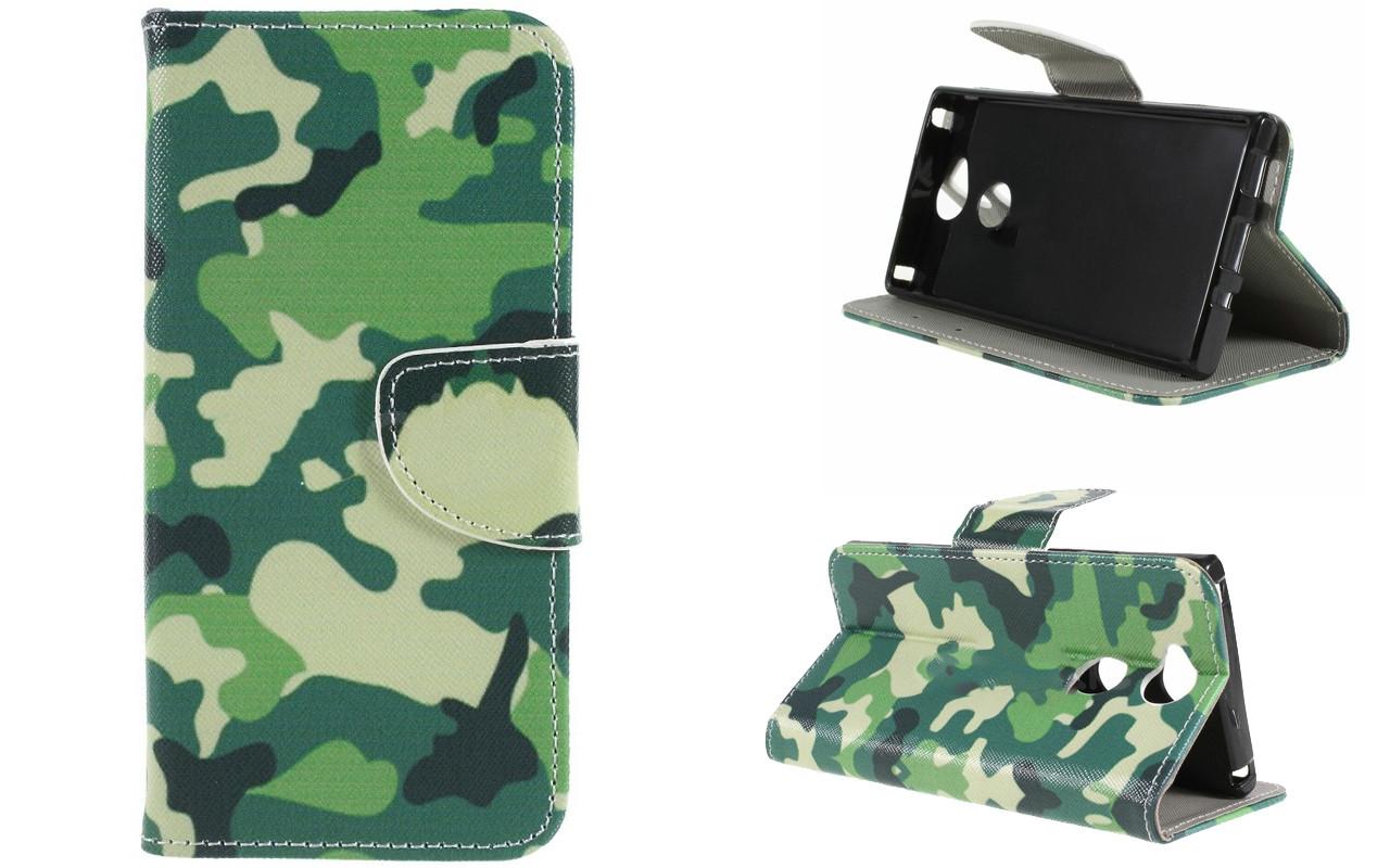 Чехол-книжка для Sony Xperia XA2 - Camouflage - Life Style Cover