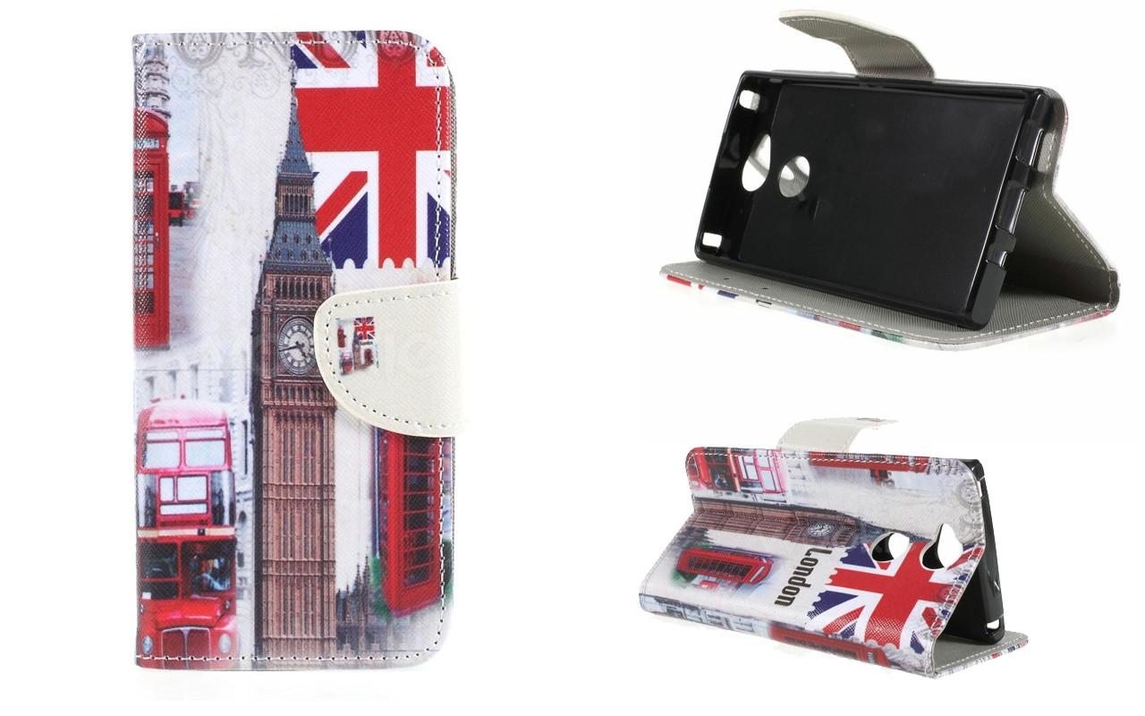 Чехол-книжка для Sony Xperia XA2 - London - Life Style Cover