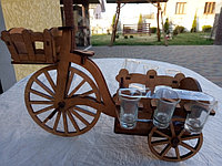 Мини-бар Велосипед с рюмками