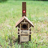 """Скворечник """"Швейцария"""" 25 см D9021"""