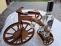 Мини-бар Велосипед с часами и  рюмками