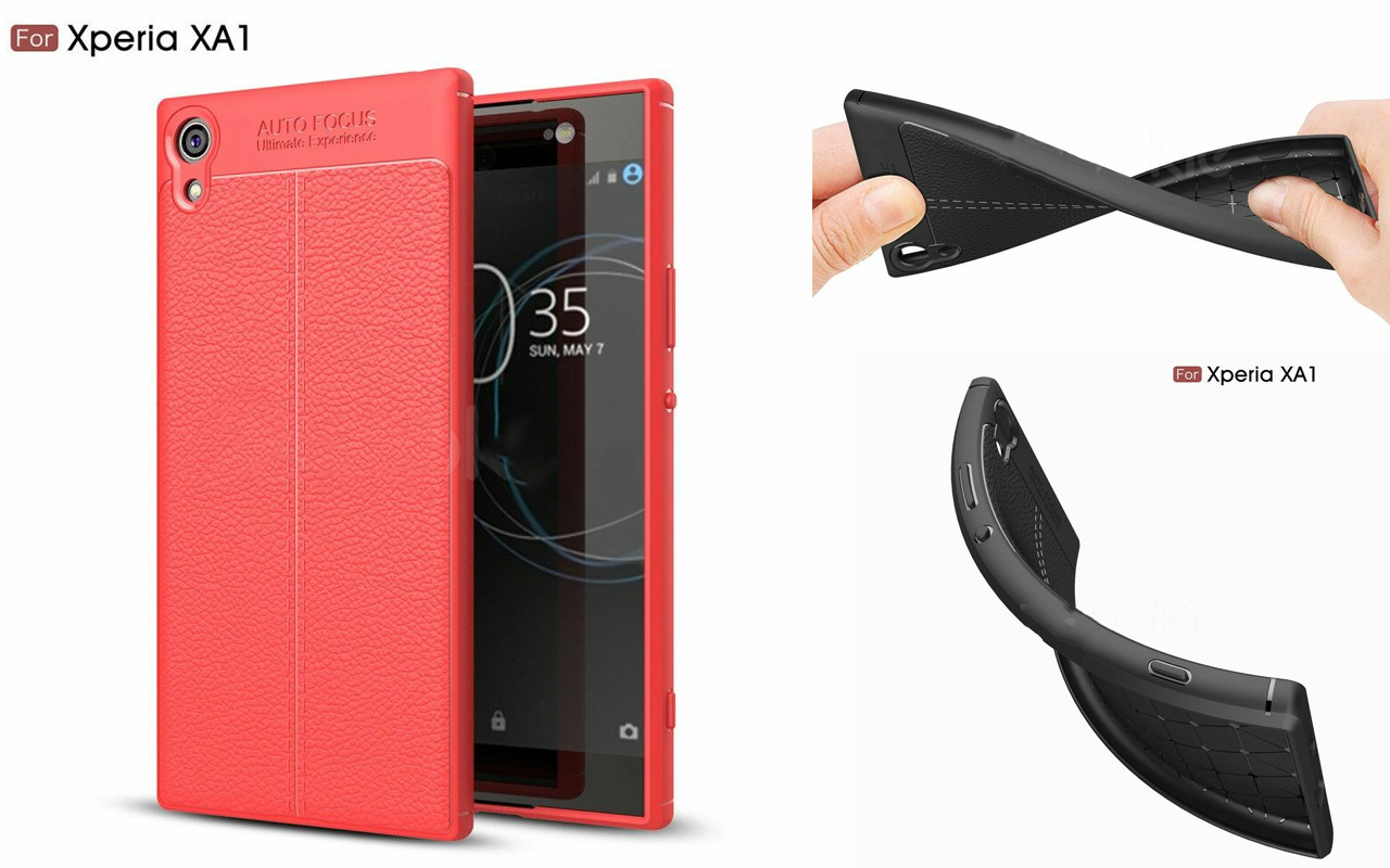 Бампер для Sony Xperia XA1 - Red - Deexe Cover