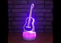 3D светильник ( Гитара)