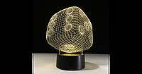 3D светильник (Игральная кость)