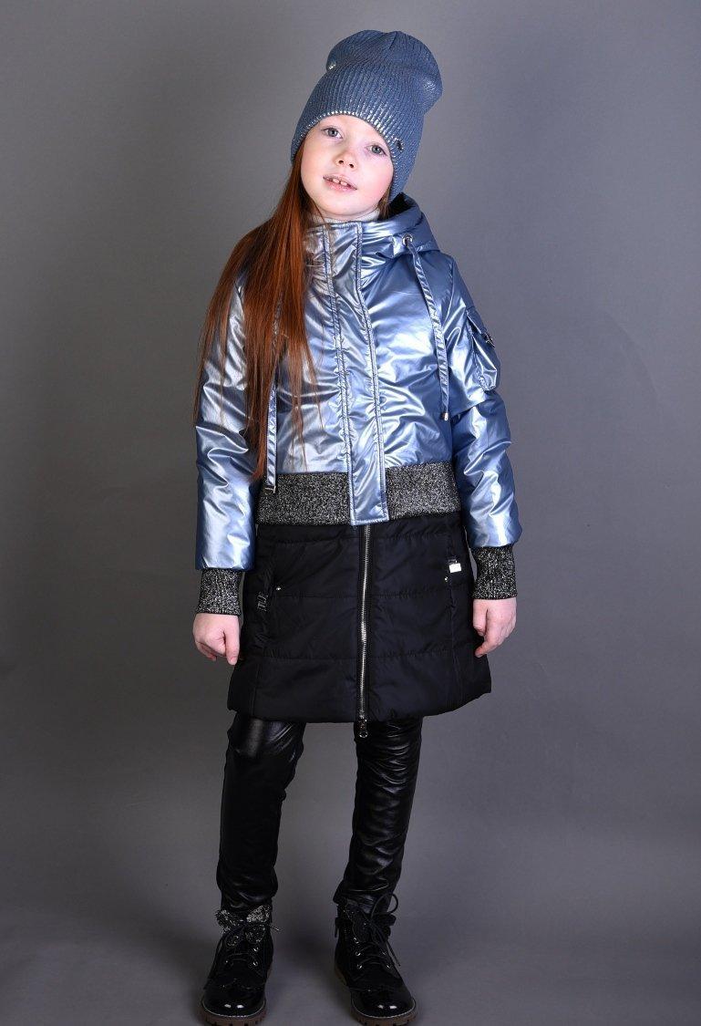"""Детская демисезонная куртка для девочки """"Anernuo"""" 1920, размеры 130-170"""