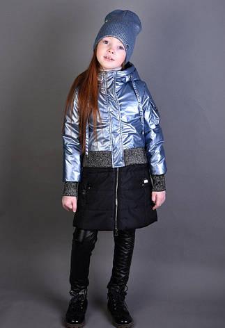"""Детская демисезонная куртка для девочки """"Anernuo"""" 1920, размеры 130-170, фото 2"""