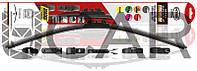 Heyner Щетка стеклоочистителя (дворник) для автомобиля, 600 мм Super Flat Premium (284000)