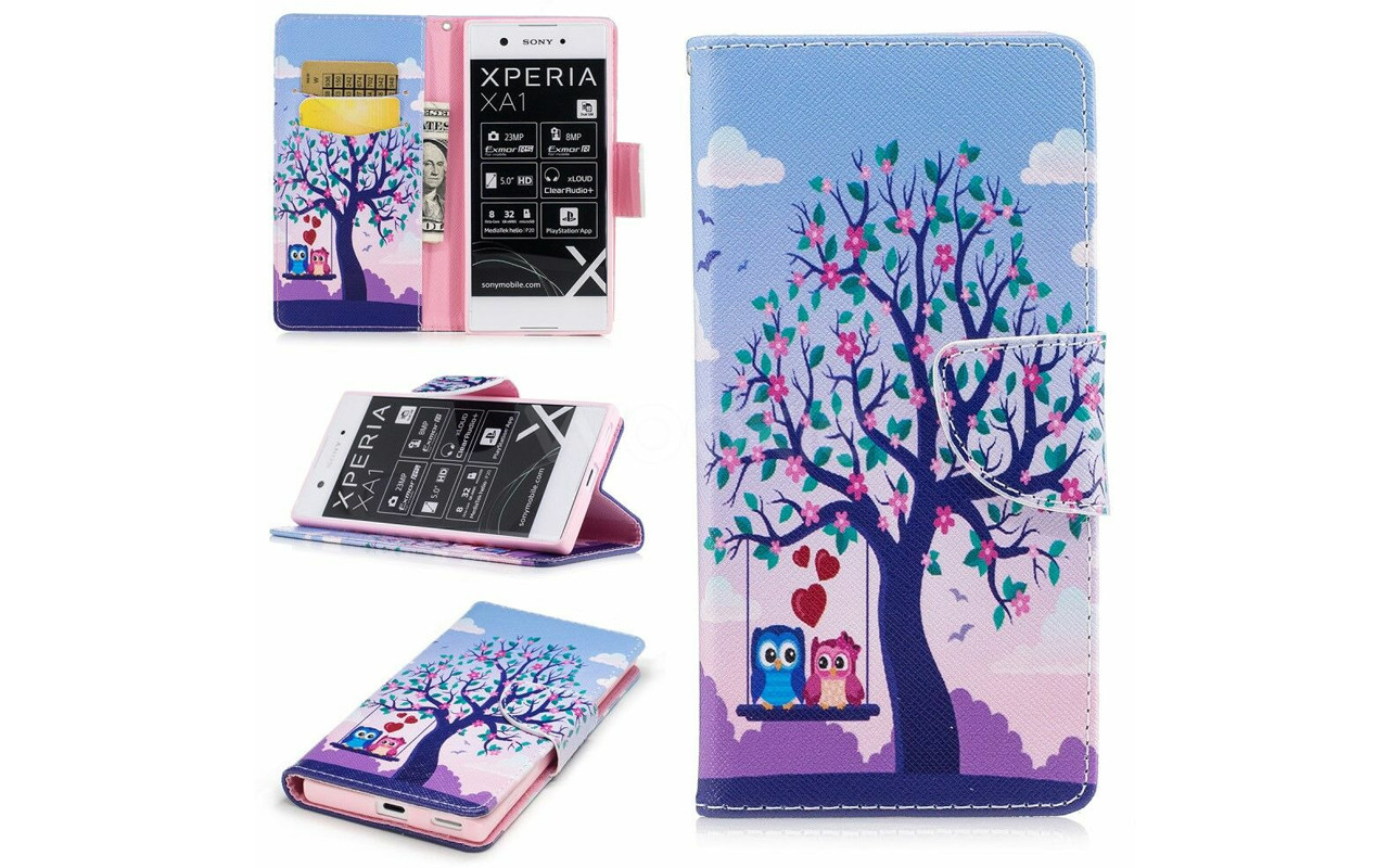 Чехол-книжка для Sony Xperia XA1 - Lovely - Life Style Cover
