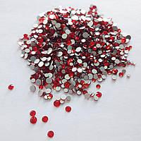 Стеклянные стразы для декора ногтей 1800 шт (siam)