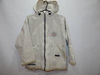 Куртка -ветровка с капюшоном на подкладке   р.30-34,рост 110-122, 033д
