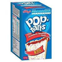 Печенье Pop Tarts Strawberry Sensation Упаковка