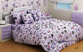 Постельное белье Совы фиолетовые