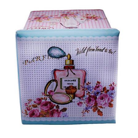 Пуф раскладной, с местом для хранения, «Цветы и духи», фото 2