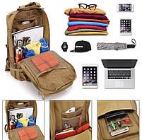 Тактический, городской, штурмовой,военный рюкзак TacticBag на 45литров Черный, фото 4
