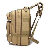 Тактический, городской, штурмовой,военный рюкзак TacticBag на 45литров Кайот, фото 2