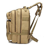 Тактический, городской, штурмовой,военный рюкзак TacticBag на 45литров Хаки, фото 2