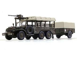 Модель коллекционная Боевых машин ALTAYA №63 Dodge WC 63 4Th Armored Division Great Britain