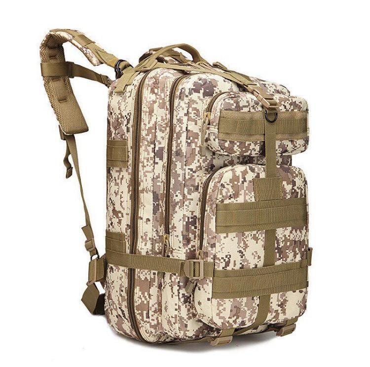 Тактический, городской, штурмовой,военный рюкзак TacticBag на 45литров Светлый пиксель