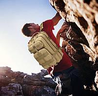 Тактический, городской, штурмовой,военный рюкзак TacticBag на 45литров Светлый пиксель, фото 5