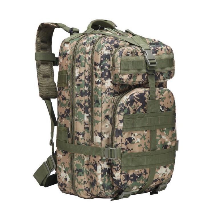Тактический, городской, штурмовой,военный рюкзак TacticBag на 45литров Американский пиксель