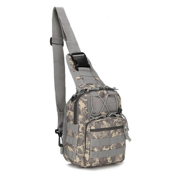 Сумка рюкзак тактическая городская повседневная TacticBag Пиксель