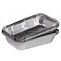 Контейнер SP86L алюминиевый прямоугольный PRO service 2100 мл доставка хранение еды кафе ресторан 50 шт.