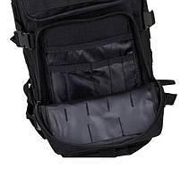 Тактический, городской, штурмовой,военный рюкзак TacticBag на 30-35литров Черный, фото 3