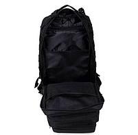 Тактический, городской, штурмовой,военный рюкзак TacticBag на 30-35литров Черный, фото 5