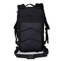 Тактический, городской, штурмовой,военный рюкзак TacticBag на 30-35литров Черный, фото 6