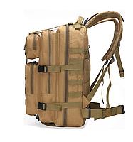 Тактический, городской, штурмовой,военный рюкзак TacticBag на 30-35литров Кайот, фото 2