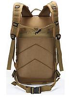 Тактический, городской, штурмовой,военный рюкзак TacticBag на 30-35литров Кайот, фото 3