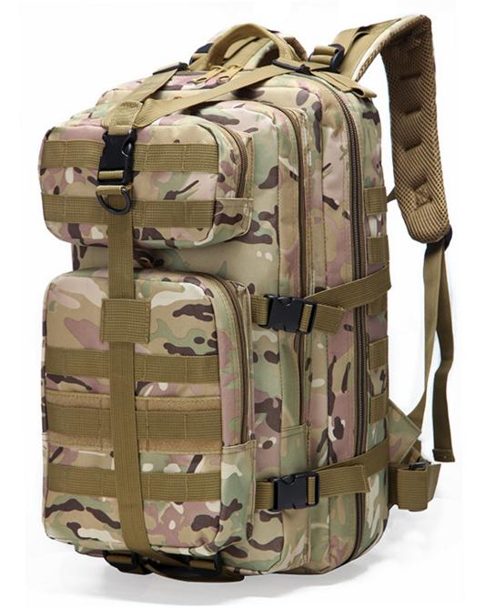 Тактический, городской, штурмовой,военный рюкзак TacticBag на 30-35литров Мультикам