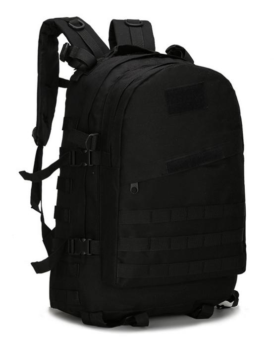 Городской тактический штурмовой военный рюкзак TacticBag на 40литров Черный