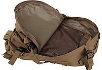 Городской тактический штурмовой военный рюкзак TacticBag на 40литров Черный, фото 3