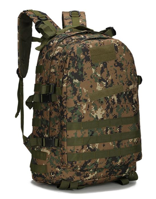 Городской тактический штурмовой военный рюкзак TacticBag на 40литров Американский пиксель