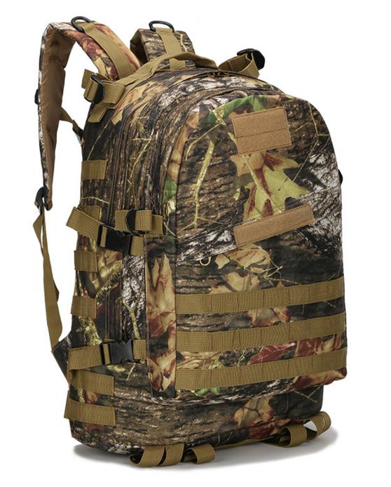 Городской тактический штурмовой военный рюкзак  TacticBag на 40литров Дуб