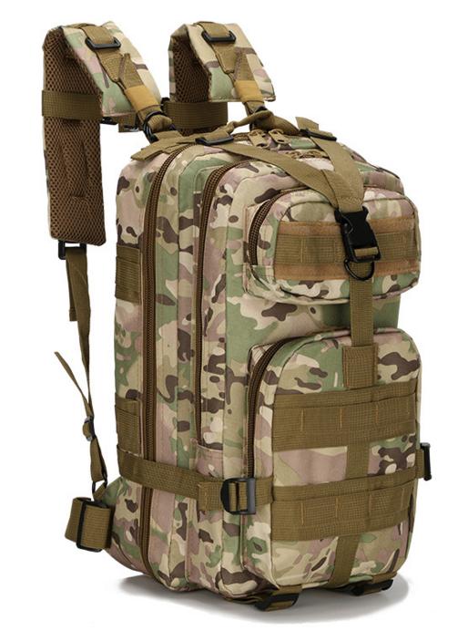 Тактический штурмовой военный городской рюкзак TacticBag на 23-25литров Мультикам