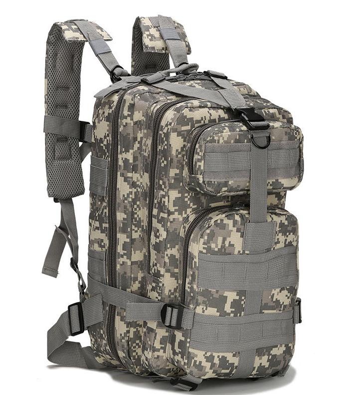 Тактический штурмовой военный городской рюкзак TacticBag на 23-25литров Пиксель