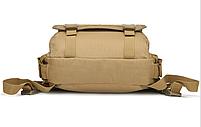Сумка-рюкзак тактическая,городская,деловая  TacticBag Кайот, фото 3
