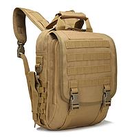 Сумка-рюкзак тактическая,городская,деловая  TacticBag Кайот, фото 5