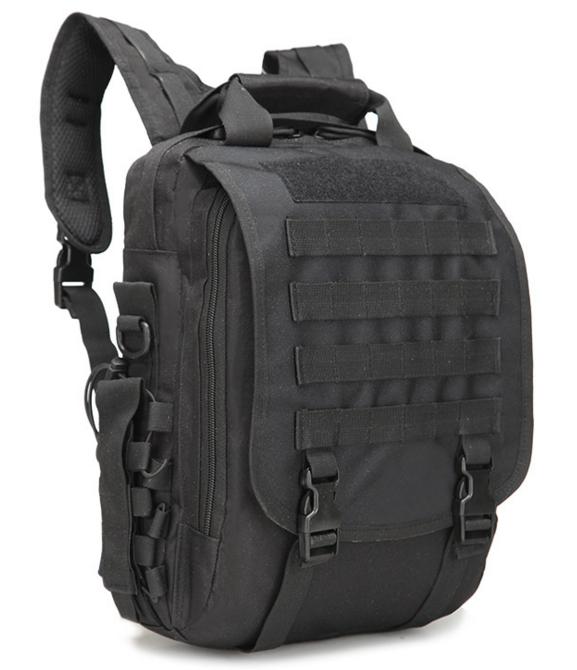 Сумка-рюкзак тактическая,городская,деловая  TacticBag Черная