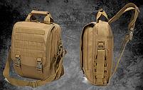 Сумка-рюкзак тактическая,городская,деловая  TacticBag Черная, фото 6