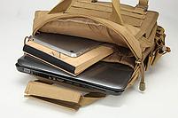 Сумка-рюкзак тактическая,городская,деловая  TacticBag Черная, фото 8