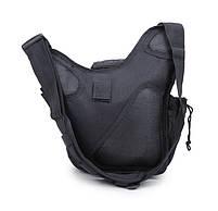 Городская тактическая штурмовая сумка TacticBag Черная, фото 2