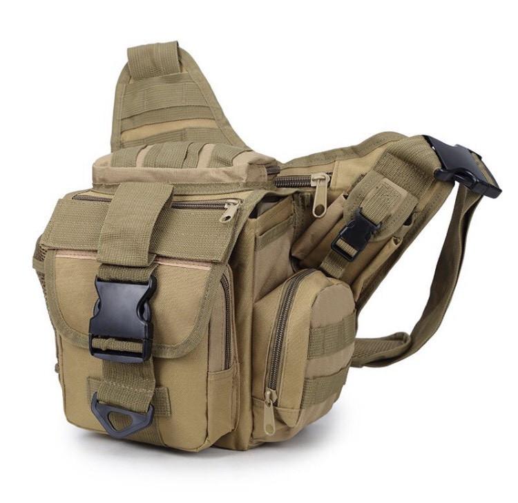 Городская тактическая штурмовая сумка TacticBag Кайот