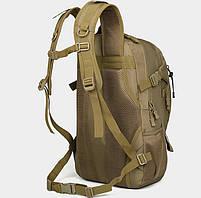 Рюкзак тактический, штурмовой, городской TacticBag на 35литров Черный, фото 3