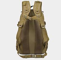 Рюкзак тактический, штурмовой, городской TacticBag на 35литров Черный, фото 4