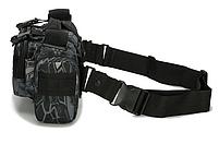 Сумка тактическая наплечная поясная TacticBag Черный питон, фото 5