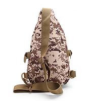 Тактическая,городская сумочка через плечо TacticBag Черная, фото 2